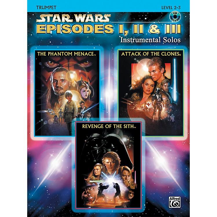 AlfredStar Wars Episodes I, II & III Instrumental Solos Trumpet (Book/CD)