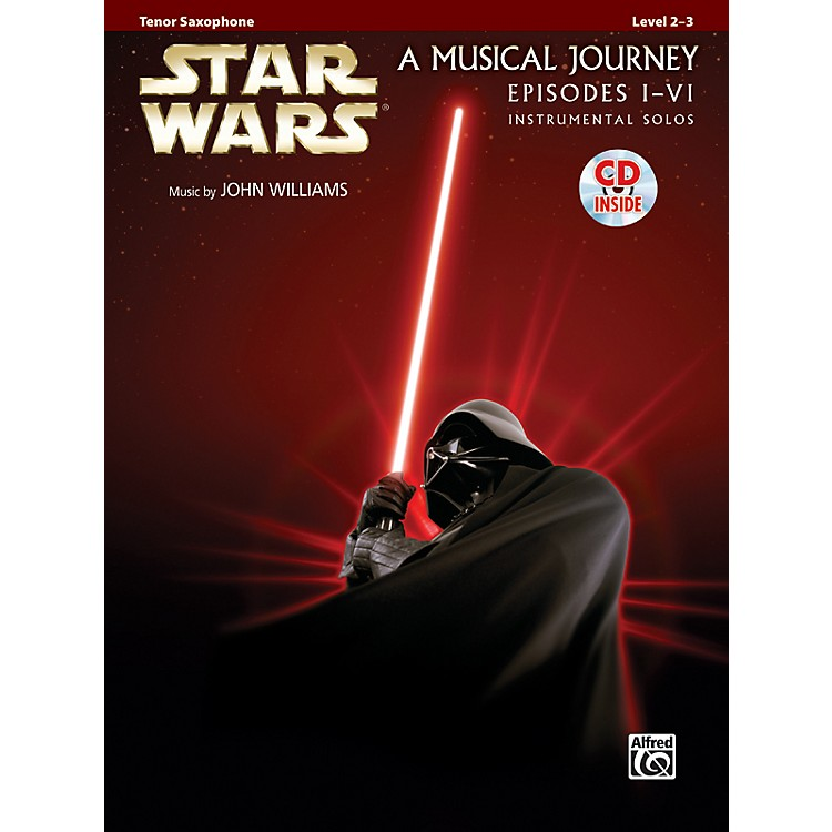 AlfredStar Wars Instrumental Solos (Movies I-VI) Tenor Sax Book & CD