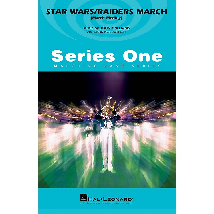 MCAStar Wars/Raiders March Marching Band Level 2 by John Williams Arranged by Paul Lavender