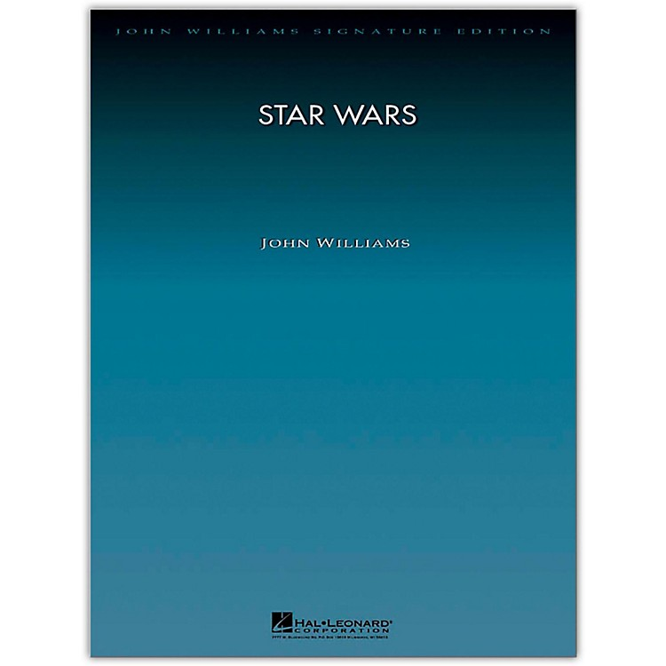 Hal Leonard Star Wars Suite for Orchestra - John Williams Signature Edition Orchestra Deluxe Score