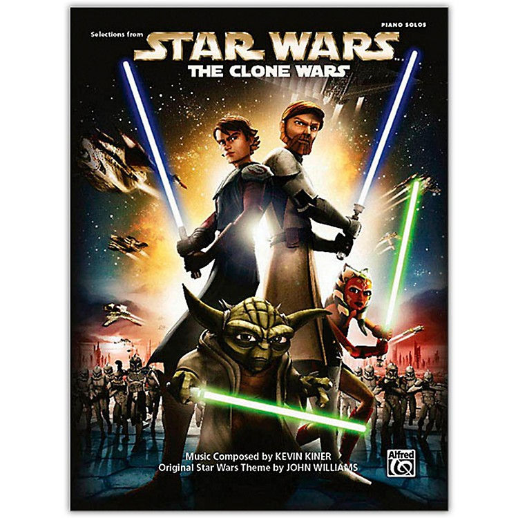 AlfredStar Wars: The Clone Wars Piano Solo Songbook