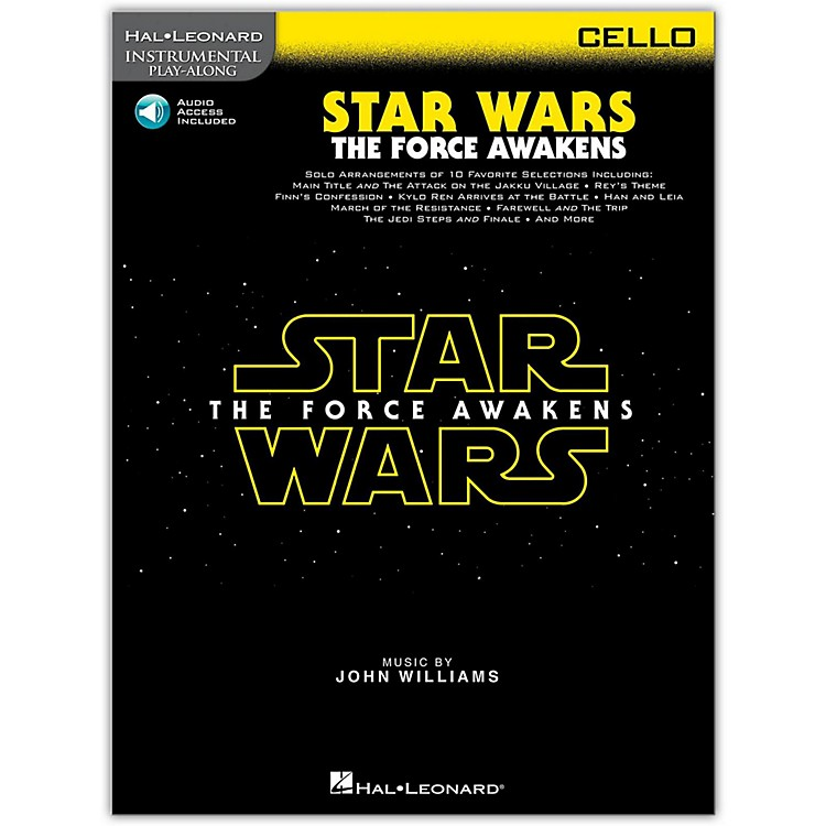 Hal LeonardStar Wars: The Force Awakens - Cello Instrumental Play-Along,  Book with Online Audio