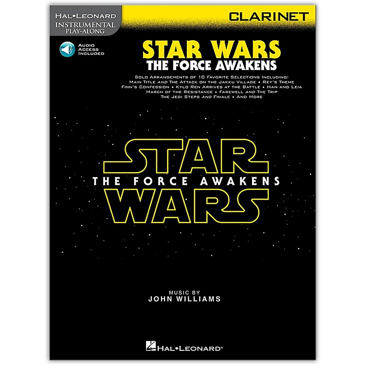 Hal Leonard Star Wars: The Force Awakens - Clarinet Instrumental Play-Along,  Book with Online Audio