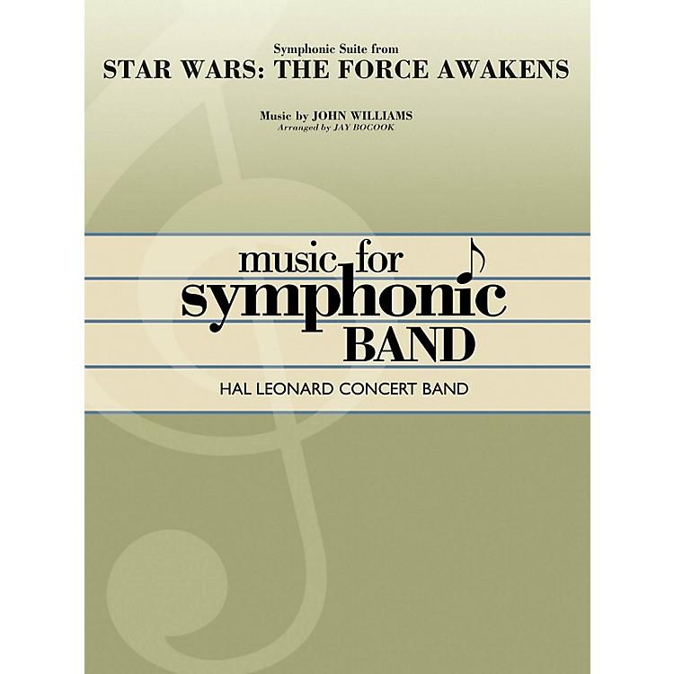Hal LeonardStar Wars: The Force Awakens - Symphonic Suite Concert Band Level 4 Arranged by Jay Bocook