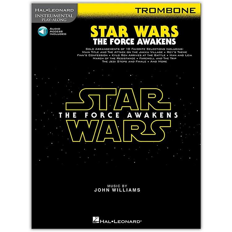 Hal LeonardStar Wars: The Force Awakens - Trombone Instrumental Play-Along,  Book with Online Audio