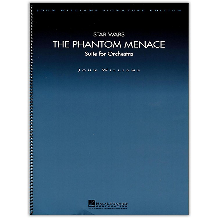 Hal Leonard Star Wars: The Phantom Menace - John Williams Signature Edition Orchestra