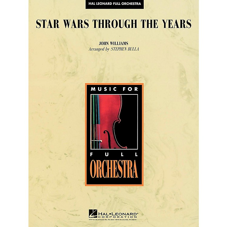 Hal Leonard Star Wars Through the Years - Full Orchestra Level 3