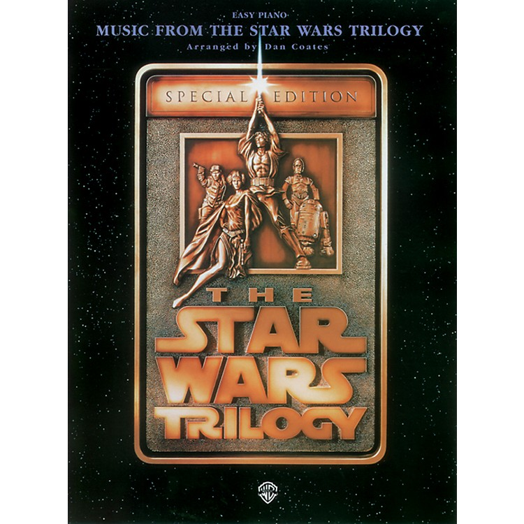 AlfredStar Wars Trilogy for Easy Piano Book