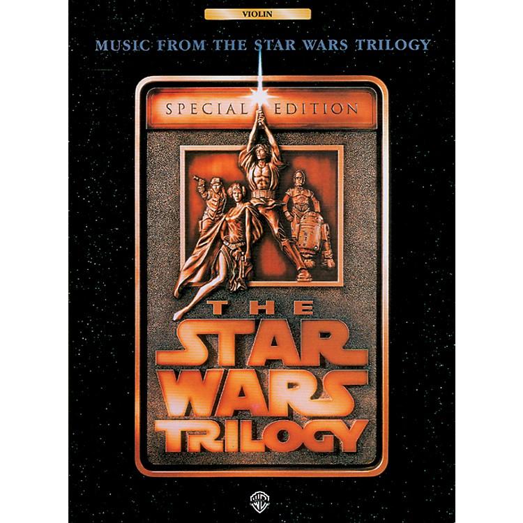 AlfredStar Wars Trilogy for Violin Book