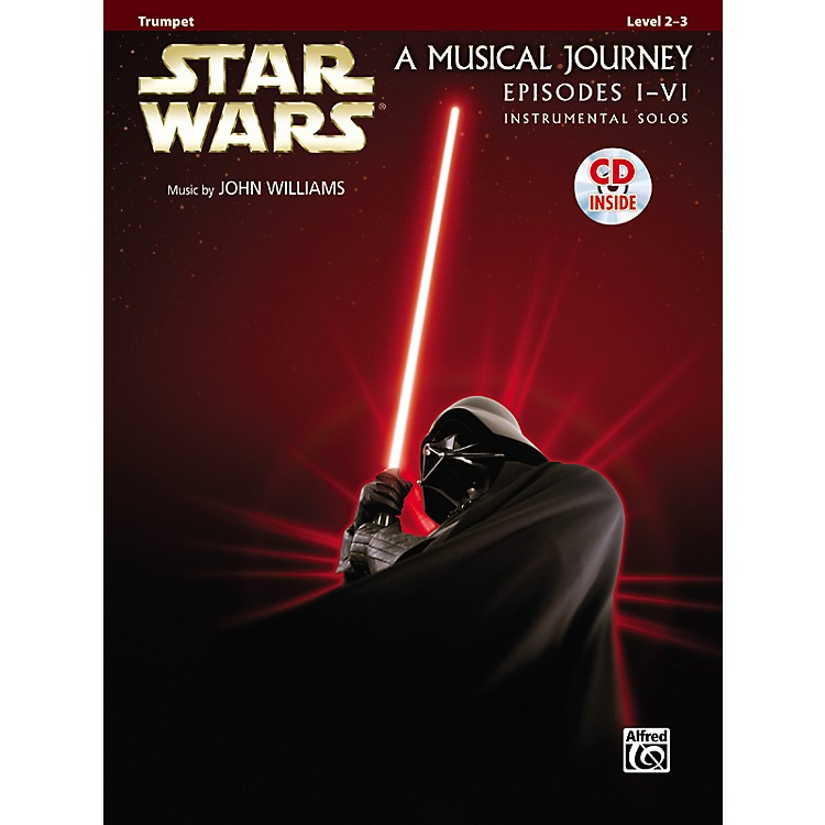 AlfredStar Wars Trumpet Instrumental Solos (Movies I-VI) Book & CD