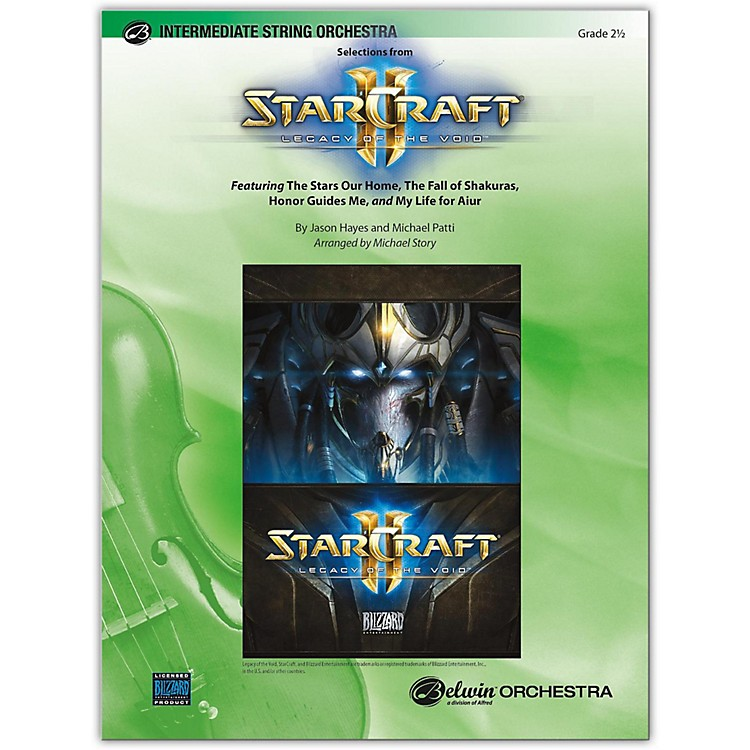 BELWINStarCraft II: Legacy of the Void, Selections from 2.5
