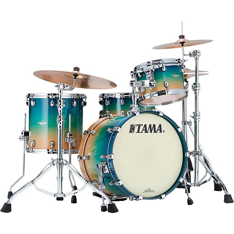 Tama Starclassic Maple Exotix 3-Piece Shell Pack Maple Gloss Figured