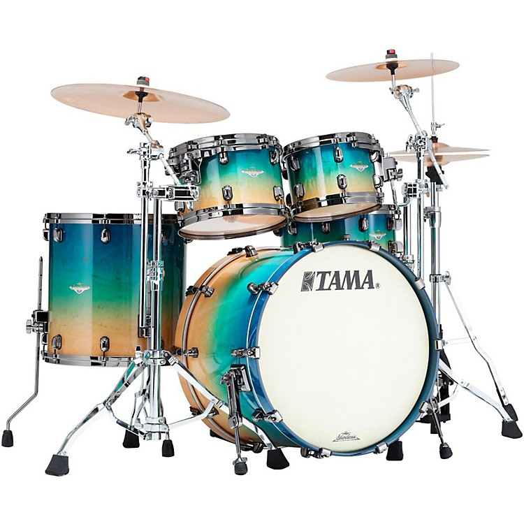 Tama Starclassic Maple Exotix 4-Piece Shell Pack Maple Gloss Figured