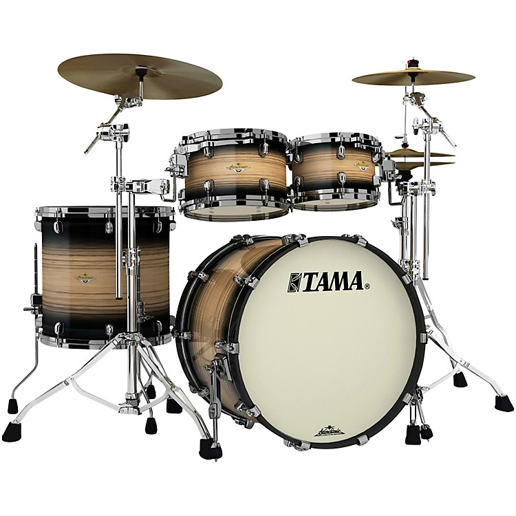 TAMA Starclassic Maple Exotix Pacific Walnut 4-Piece Shell Pack with 22