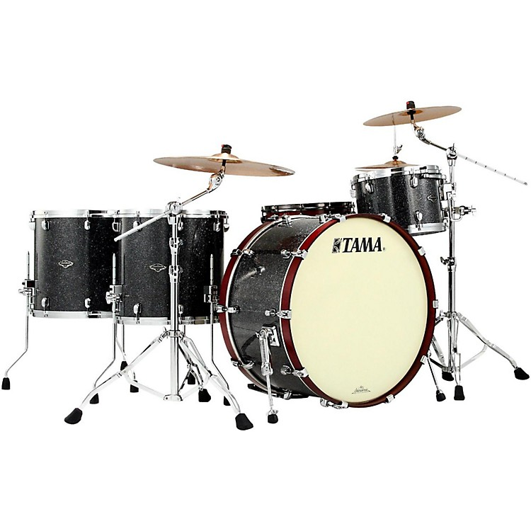 TamaStarclassic Performer B/B Yesteryear Classic Edition 4-Piece Classic Rock Shell PackRed Oyster