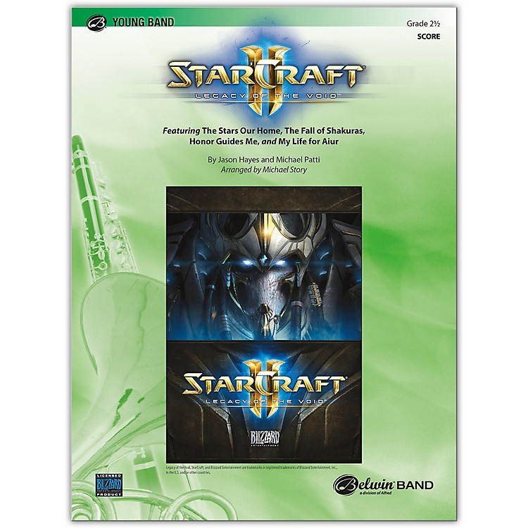 BELWINStarcraft II: Legacy of the Void Conductor Score 2.5 (Easy to Medium Easy)