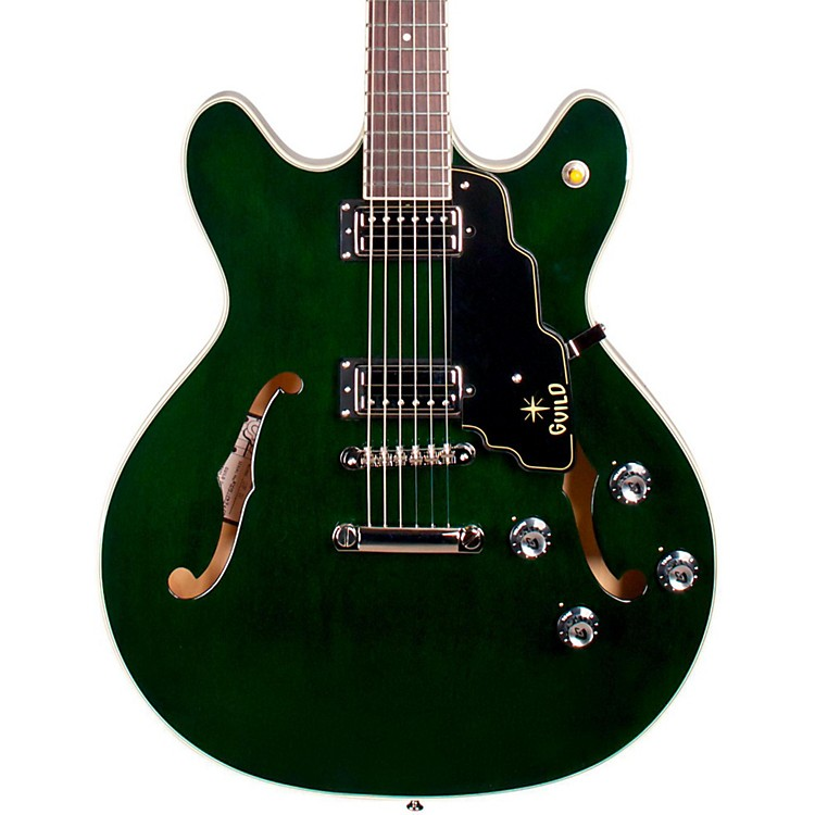 Guild Starfire IV ST Semi-Hollowbody Electric Guitar Green