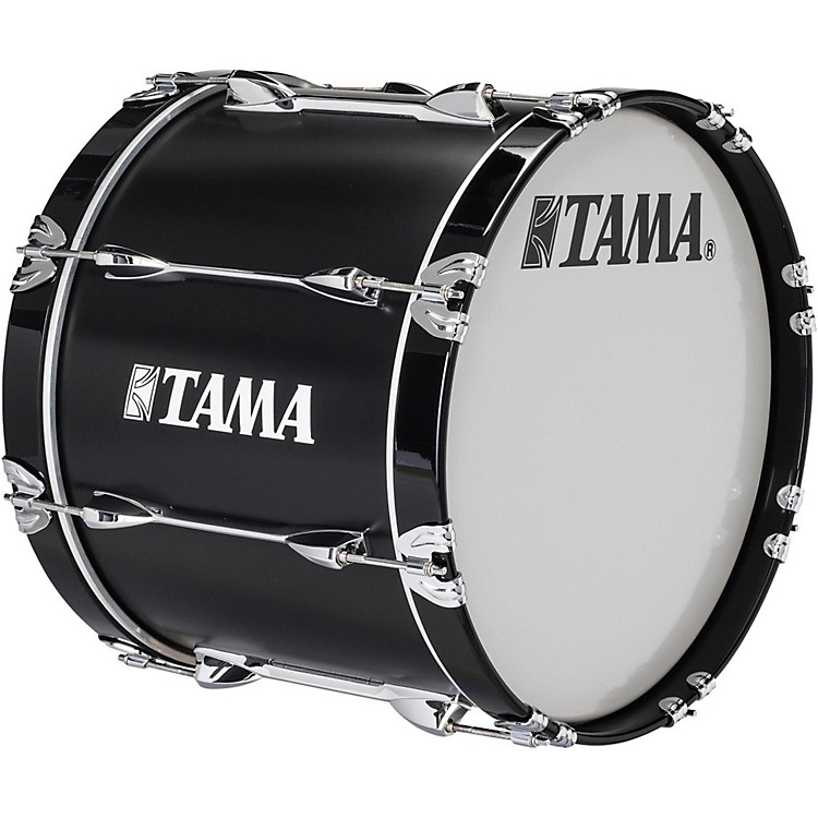 Tama Marching Starlight Bass Drum 16 x 14 in. Black