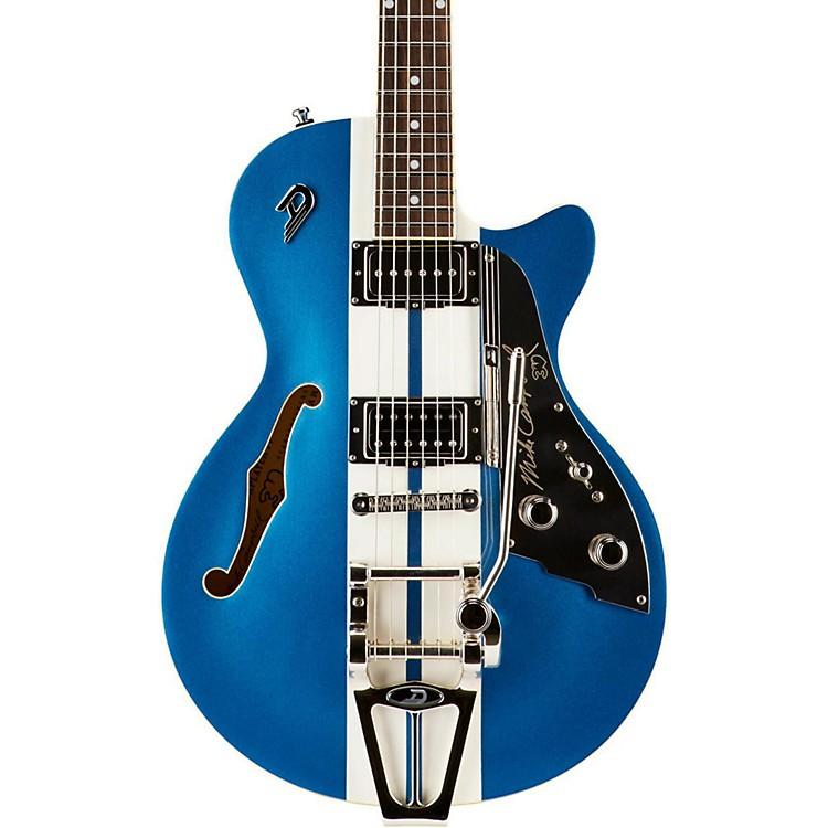 Duesenberg USAStarplayer TV Mike Campbell Semi-Hollow Electric GuitarBlue Metallic