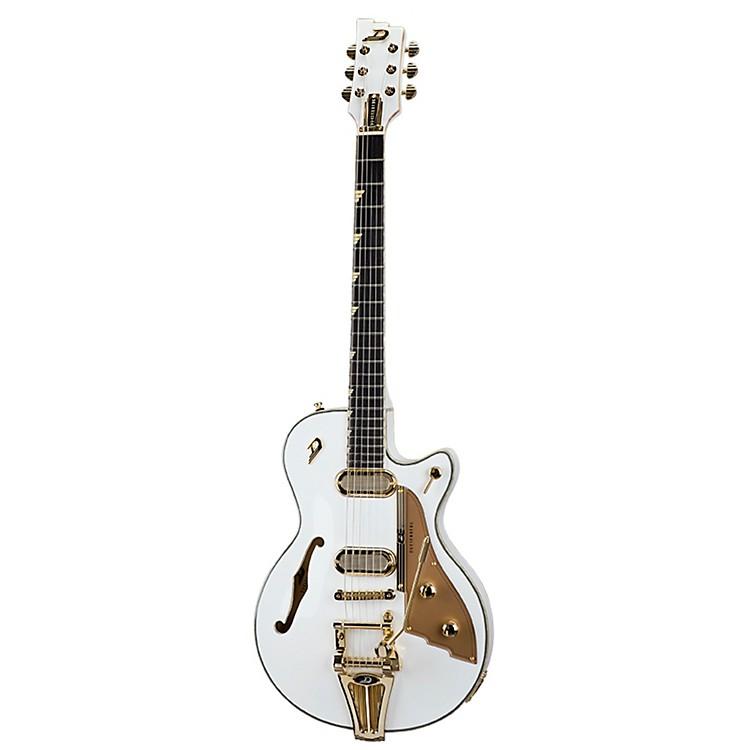 Duesenberg USAStarplayer TV Phonic Semi-Hollowbody Electric GuitarVenetian White