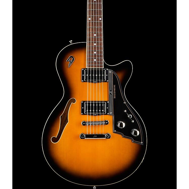 Duesenberg USAStarplayer TV Stoptail Semi-Hollow Electric Guitar2-Tone Sunburst