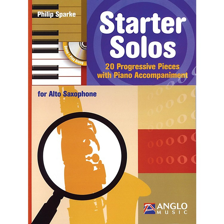 Anglo MusicStarter Solos for Alto Sax Anglo Music Press Play-Along Series