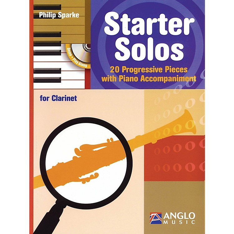 Anglo MusicStarter Solos for Clarinet Anglo Music Press Play-Along Series BK/CD