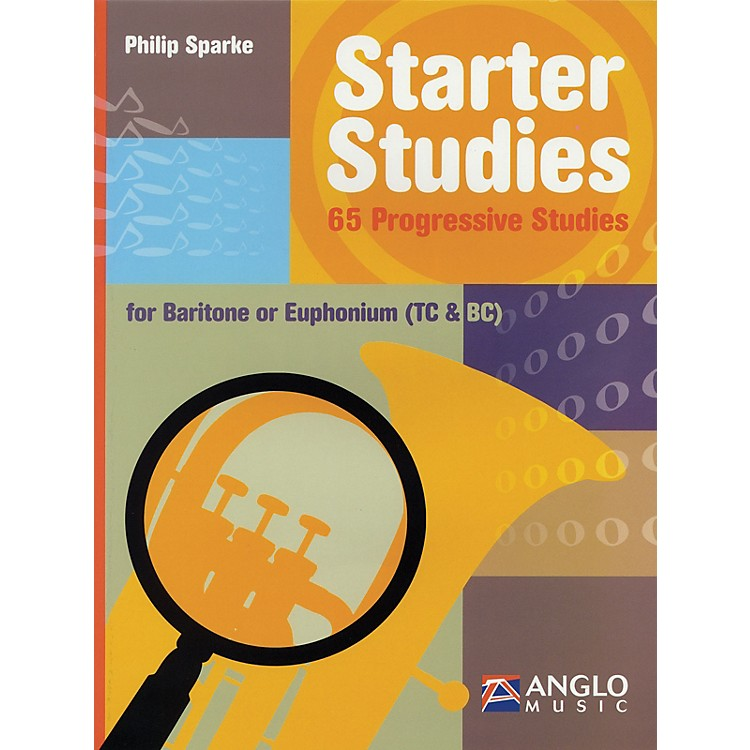 Anglo Music Starter Studies (Baritone/Euphonium) De Haske Solo Work Series Written by Philip Sparke