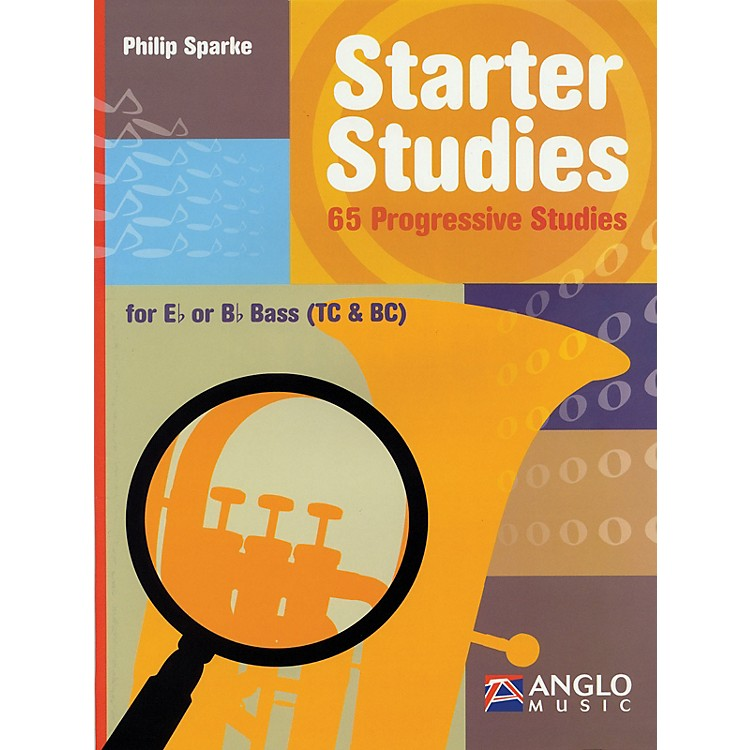 Anglo MusicStarter Studies (Eb or Bb Bass) De Haske Play-Along Book Series Written by Philip Sparke