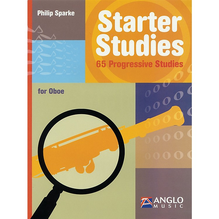 Anglo MusicStarter Studies (Oboe) De Haske Play-Along Book Series Written by Philip Sparke