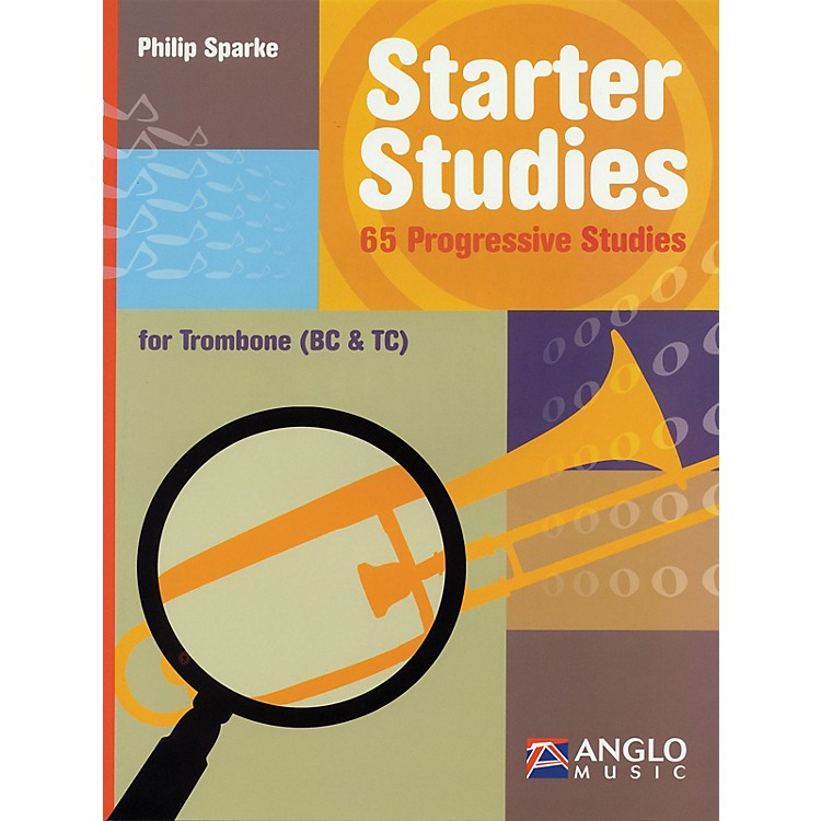 Anglo MusicStarter Studies (Trombone) De Haske Play-Along Book Series Written by Philip Sparke