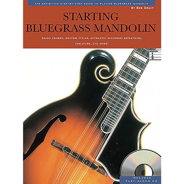 Music SalesStarting Bluegrass Mandolin Music Sales America Series Softcover with CD Written by Bob Grant