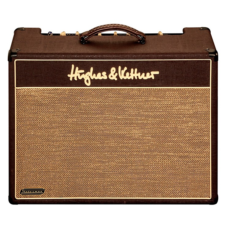 Hughes & KettnerStatesman Quad EL84 40W Combo with Footswitch and Slip CoverBlack