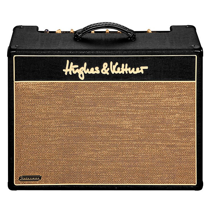 Hughes & Kettner Statesman Quad EL84 40W Combo with Footswitch and Slip Cover Black