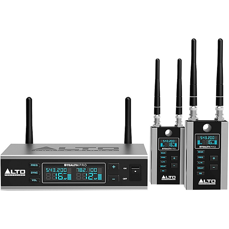 AltoStealth Wireless Pro Stereo Wireless System for Powered Loudspeakers