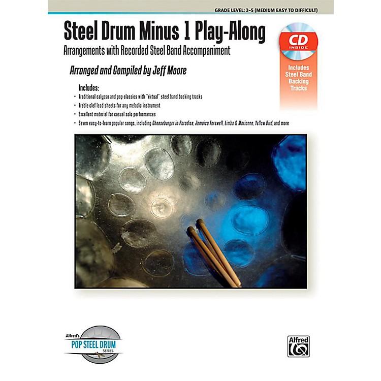 AlfredSteel Drum Minus 1 Play-Along - Book & CD