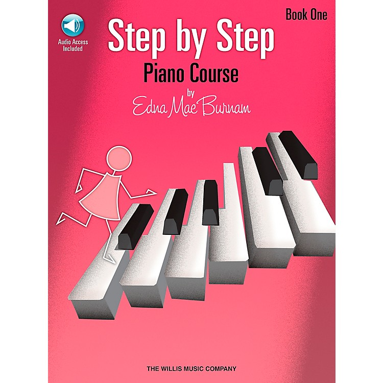 Willis MusicStep By Step Piano Course Book 1 Book/CD