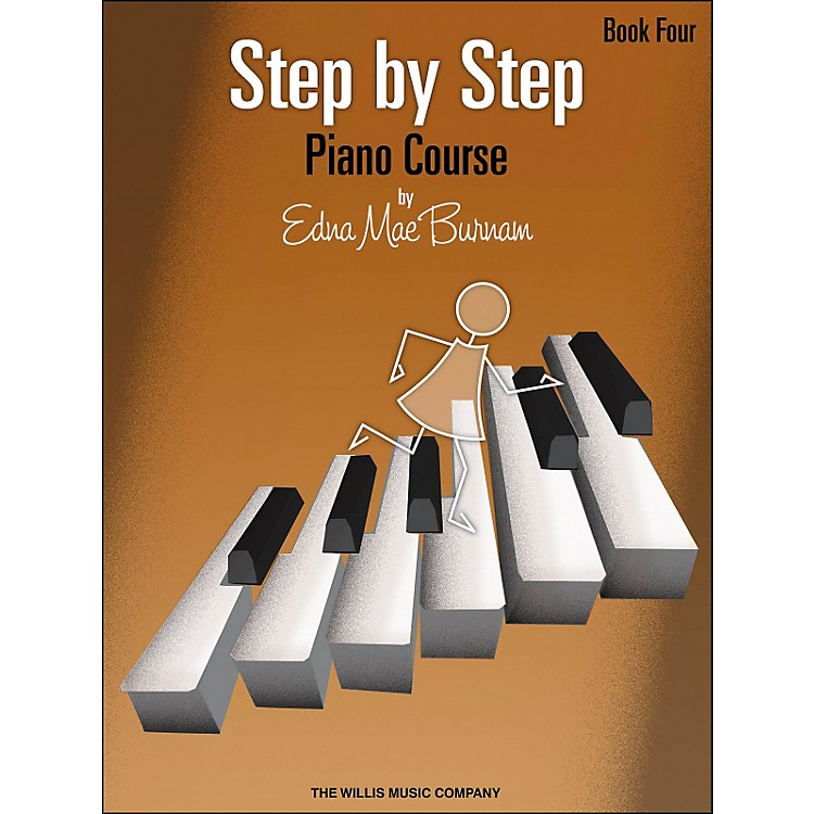 Willis MusicStep By Step Piano Course Book 4