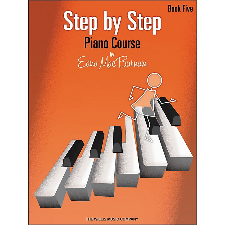 Willis MusicStep By Step Piano Course Book 5
