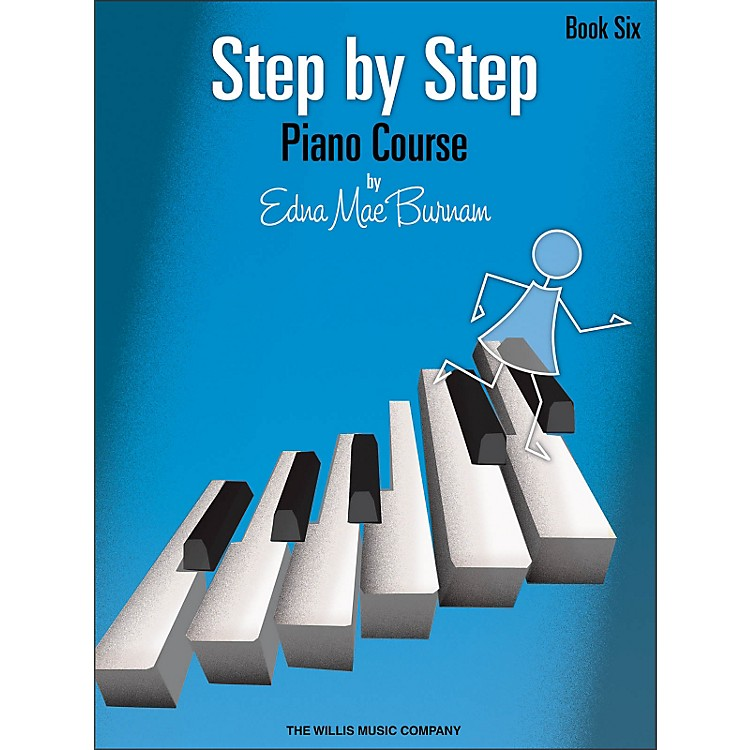 Willis MusicStep By Step Piano Course Book 6