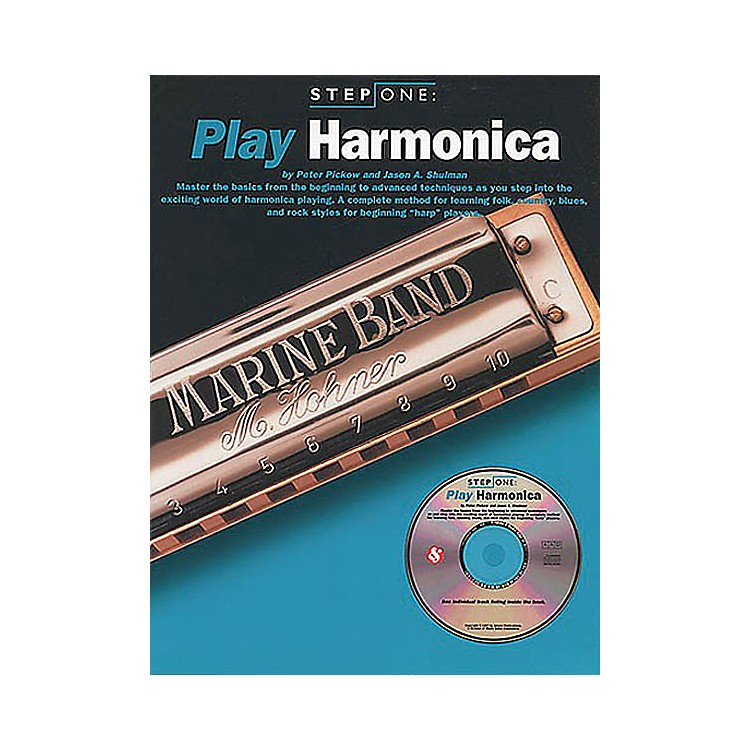 Music SalesStep One: Play Harmonica Music Sales America Series Softcover with CD Written by Jason A. Shulman