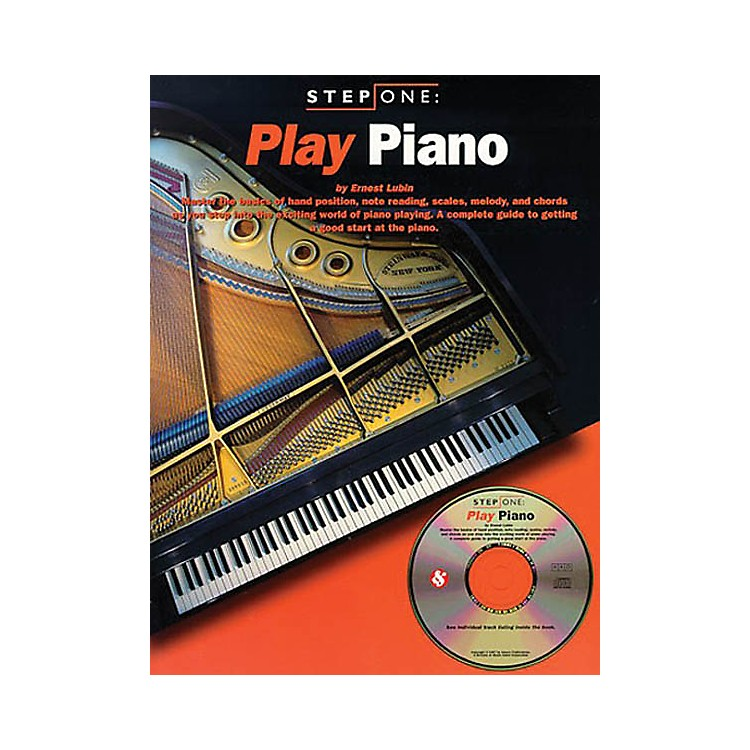 Music SalesStep One: Play Piano Music Sales America Series Softcover with CD Written by Ernest Lubin