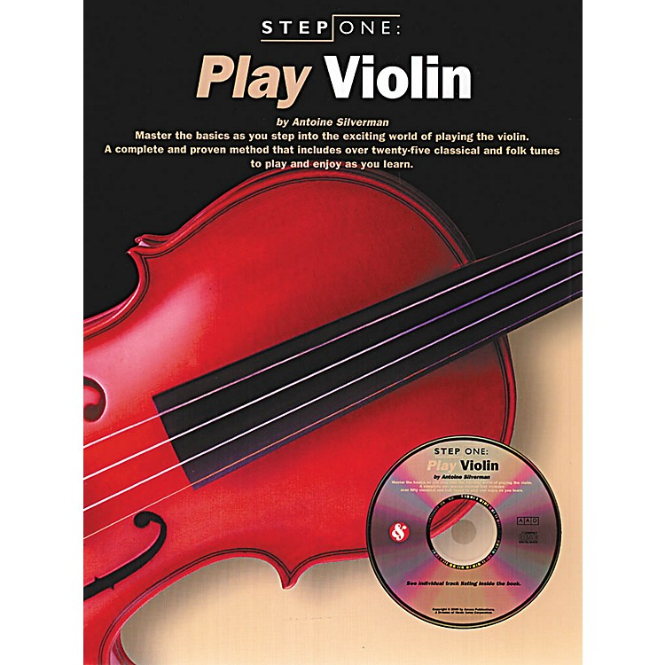 Music SalesStep One: Play Violin Music Sales America Series Softcover with CD Written by Antoine Silverman