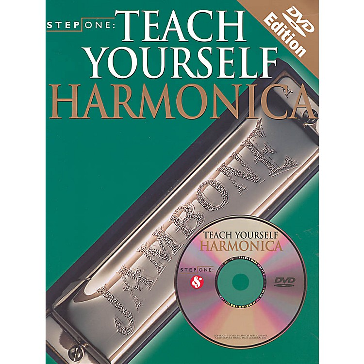 Music SalesStep One: Teach Yourself Harmonica Music Sales America Series Softcover with DVD Written by Various