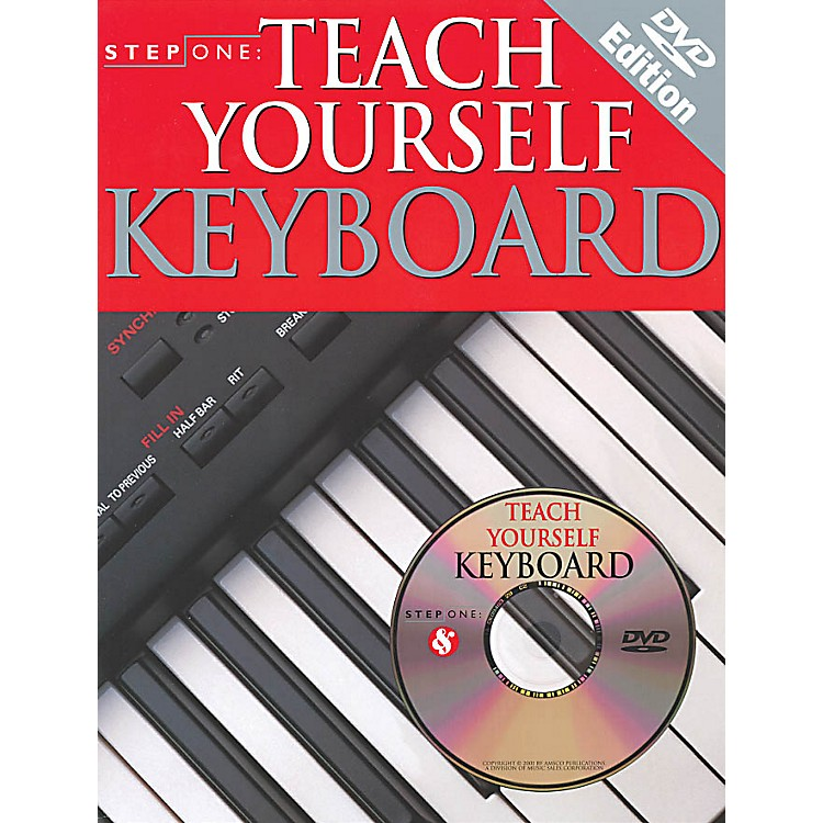Music SalesStep One: Teach Yourself Keyboard Music Sales America Series Softcover with DVD Written by Various