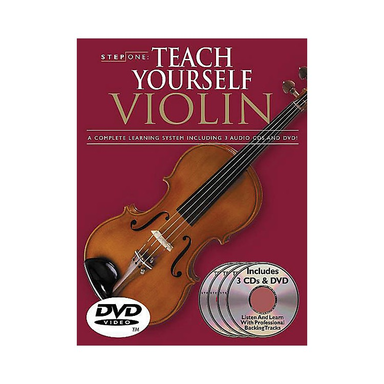 Music SalesStep One: Teach Yourself Violin Course Music Sales America Series Softcover with DVD by Antoine Silverman