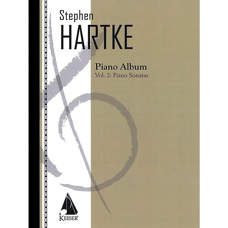 Lauren Keiser Music PublishingStephen Hartke Piano Album, Volume. 2: Piano Sonatas LKM Music Series Softcover by Stephen Hartke