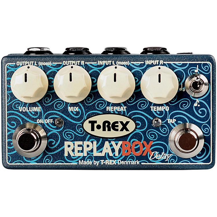 T-Rex Engineering Stereo Delay Guitar Effects Pedal  888365900872
