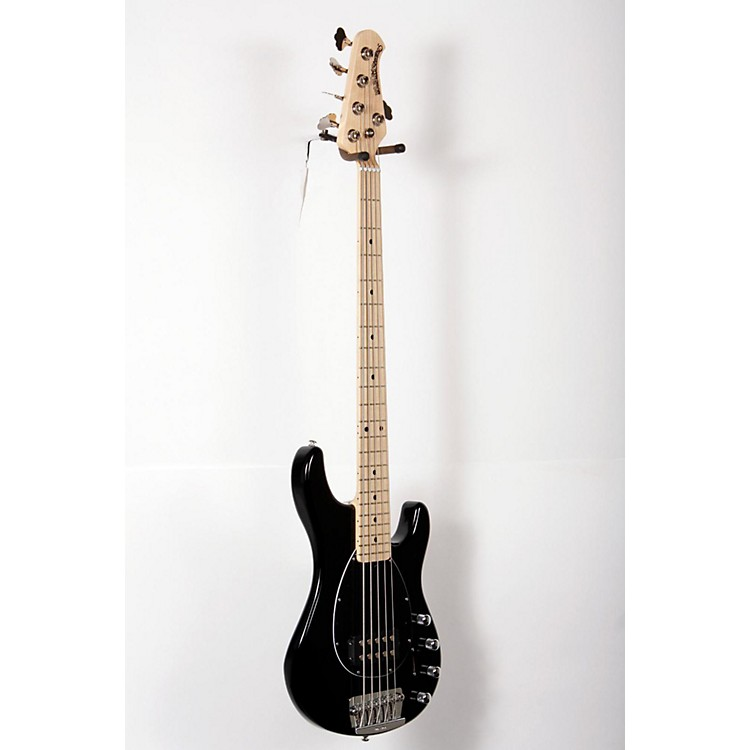 Ernie Ball Music Man Sterling 5 Electric Bass Black,Maple Fingerboard 888365821290