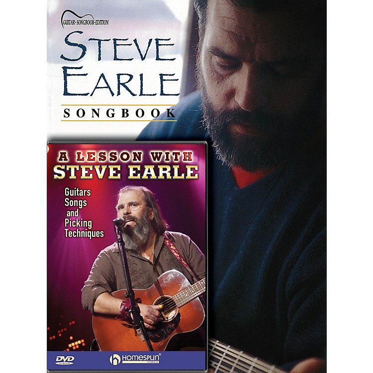 HomespunSteve Earle Guitar Pack Homespun Tapes Series Softcover with DVD Performed by Steve Earle